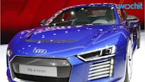 New Audi R8 E-tron A Self-Driving Dream Car