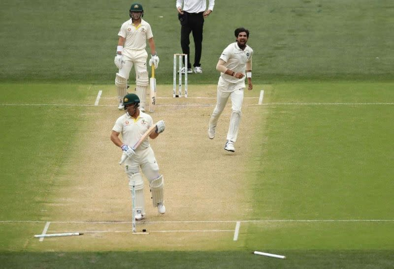 Ishant exhibited control to pick wickets upfront