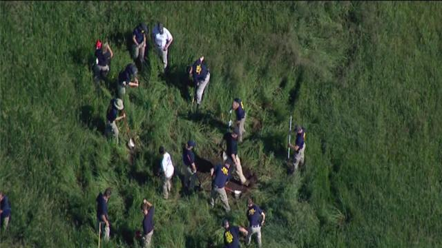 Search for Jimmy Hoffa remains in Oakland Township