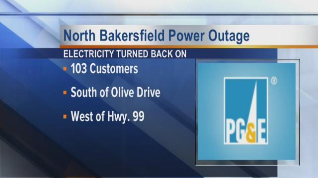 Oildale residents without electricity