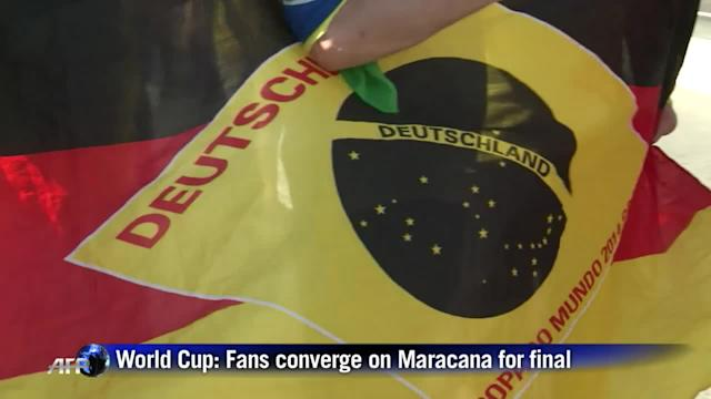 World Cup: Fans converge on Maracana for final
