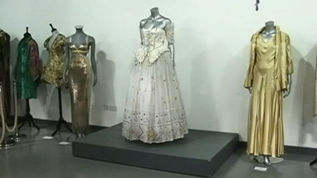 Princess Diana's Dress for Sale at Kerry Taylor Auction House