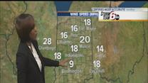 Sunday will be cold, windy