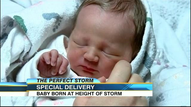 Mobile Hospital Delivers Babies During Superstorm Sandy