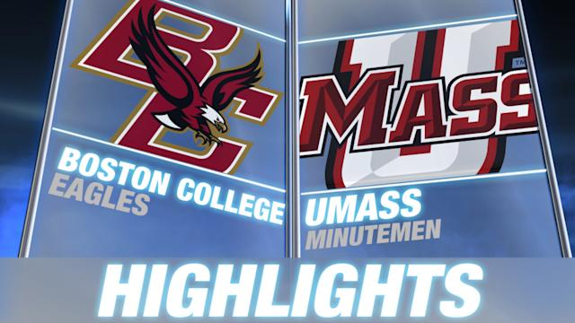 Boston College vs. UMass | 2014 ACC Football Highlights
