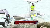 Search Continues At New Milford Lake