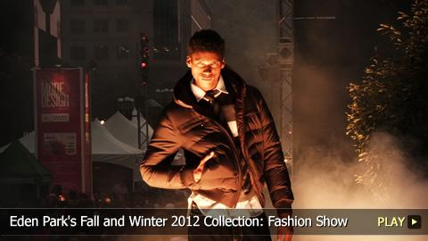 Eden Park's Fall and Winter 2012 Collection: Fashion Show