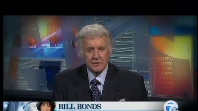 Bill Bonds offers his own brand of congratulations to Diana