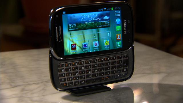 Take off with the Samsung Galaxy Stratosphere II