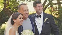 Tom Hanks Photobombs Wedding Shoot in NYC