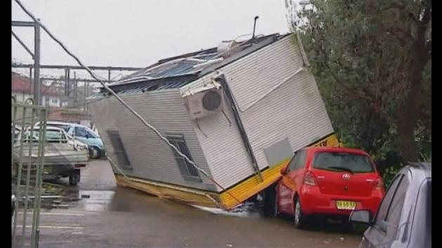 Sydney mini-tornado leaves several injured