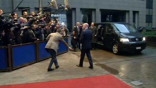 Syria, Iran, CAR on agenda as EU foreign ministers meet in Brussels