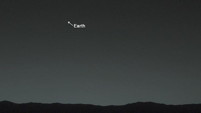 Curiosity Rover Takes First Photo of Earth From Mars