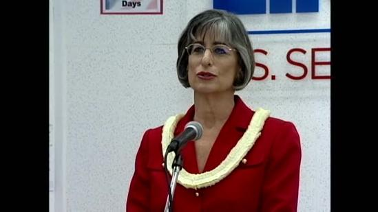 Lingle talks about her race for the Senate