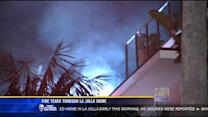 5 displaced after fire tears through La Jolla home