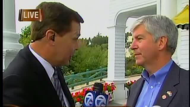 Interview with Governor Rick Snyder