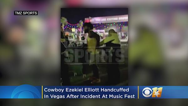 13dfba1b13f Jerry Jones not worried about Ezekiel Elliott's Las Vegas incident: Status  'not impacted'