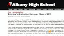 Principal Under Fire For Allegedly Plagiarizing Graduation Message