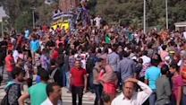 Mursi supporters demonstrate at Egyptian universities