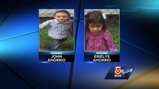 Kids in Amber Alert may be headed to Mass.