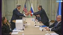 Kerry, Lavrov Say Broach Ceasefire Zone For Syria