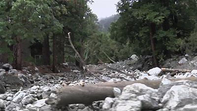 Calif. Roads Cleared After Mudslide