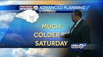 Wednesday looks warm but changes are coming