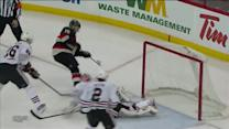 MacArthur dances around Raanta to score