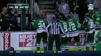 Rich Peverley collapses on Stars bench