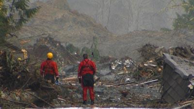 Rescuers Continue Search After Mudslide