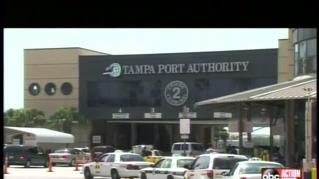 Storm keeps traffic from Port of Tampa
