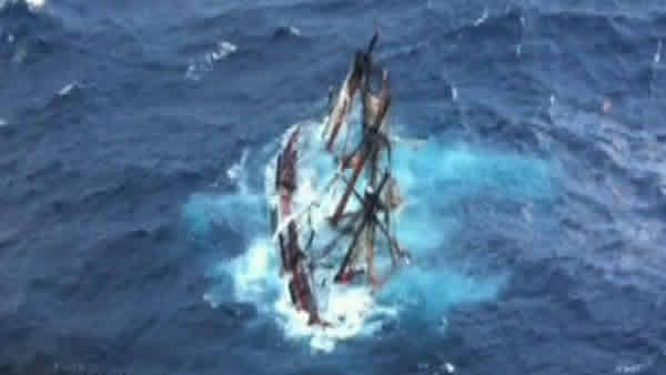 Armed Forces Salute: Rescuers of the HMS Bounty