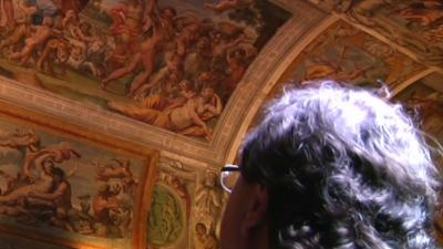 Italian Frescoes Get Much-needed Facelift
