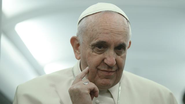 Pope says Islamist violence is