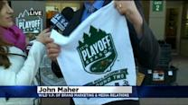 WCCO Interview: Playoff Preview w/ Wild's John Maher
