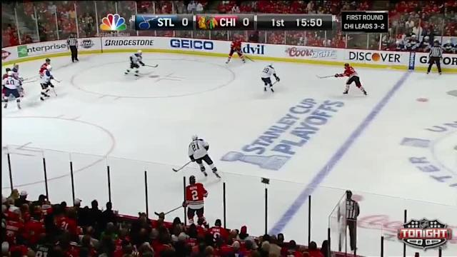 St. Louis Blues at Chicago Blackhawks - 04/27/2014