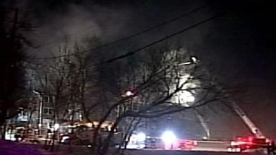 Residents Rescued In Waukesha Apartment Fire