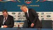 Deschamps aware of Portugal in playoff