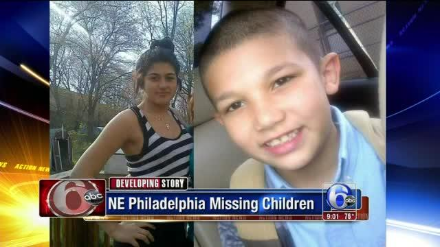 2 children missing from Northeast Philadelphia