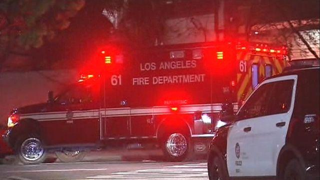 Gunman opens fire in lobby of Los Angeles police station