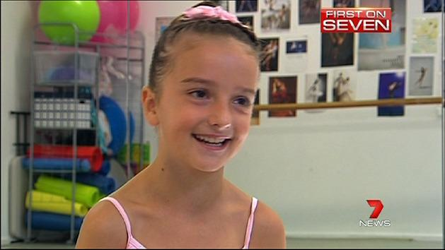Tiny dancer set to leap into stardom