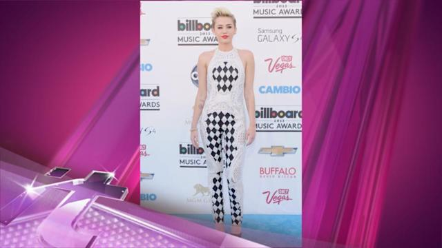 Entertainment News Pop: Miley Cyrus' Wears Engagement Ring on as She Heads to Studio