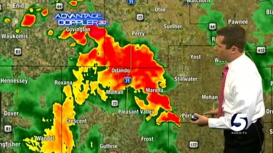 Damon's 2:40 p.m. severe weather update