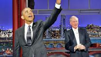 The Real Reason President Obama Came To See David Letterman