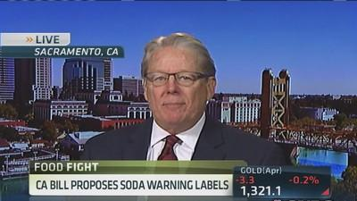 Sen. Monning: Soda warning labels don't remove choice