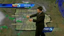 Video-Cast: Warm with some storm chances