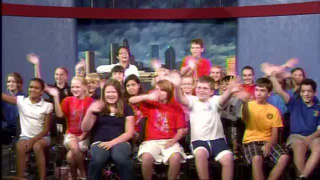 Carrollwood Elementary visits ABC Action News