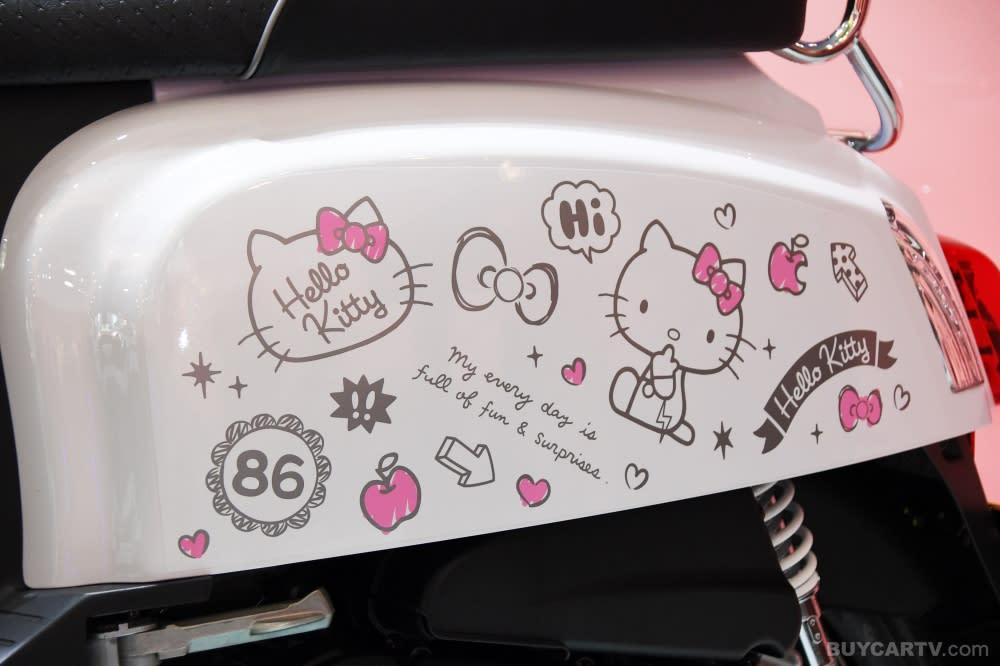 PGO J-BuBu 115 Hello Kitty聯名版 讓妳成為限量萌騎士