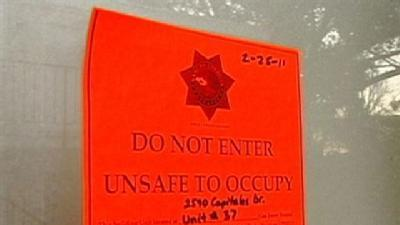 Renters Evicted From Unsafe Apartments
