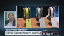 Can the Moto X make waves?